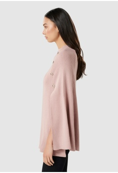 8a7baad87a26f7 Forever New Fiona Knitted Button Poncho S  89.99. Sizes One Size