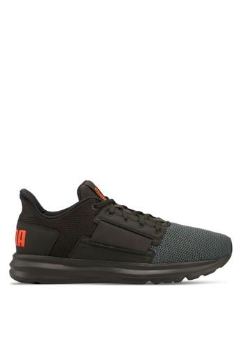 Puma green Enzo Street Running Shoes 1D43DSH96119C0GS_1