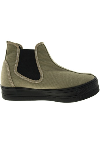 Maxstar green Maxstar Women's C30 Pull On Hidden Heel Platform Casual Shoes US Women Size MA164SH94PYJSG_1