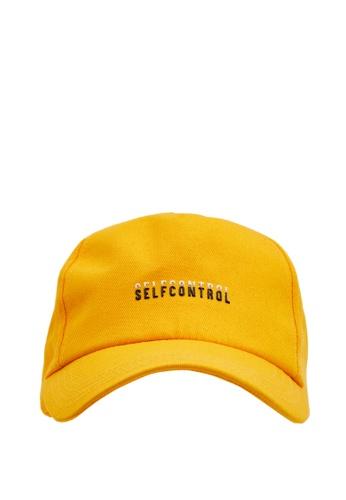 DeFacto yellow Man Hat F7529ACC07C3D2GS_1