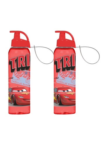 Herevin Herevin 2 Pcs 750ML Sports Bottle with Handle / Flask Bottle / Water Bottle - Pink Minnie / Blue Frozen / Red Mickey / Red Minnie / Car F4730HLF770577GS_1
