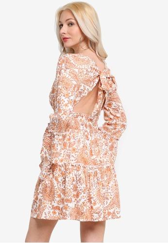Mink Pink multi Sunrise Paisley Mini Dress 6D564AAA80B7CDGS_1