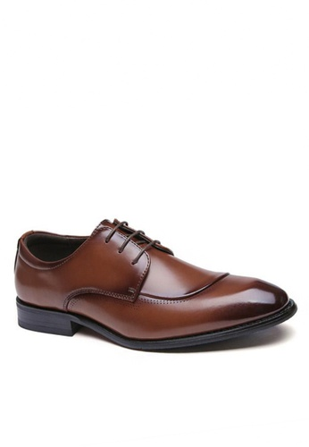 Twenty Eight Shoes Basic Business Leather Oxford Shoes 355-1 6910BSHBBA8602GS_1