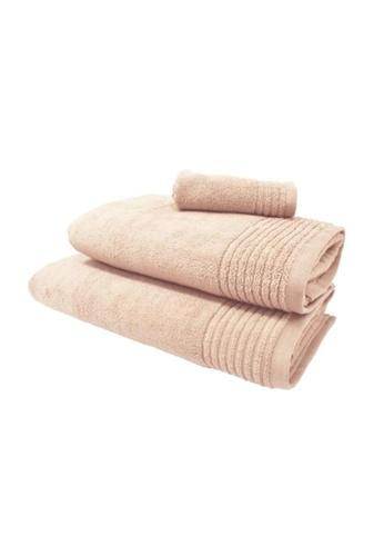 HOOGA pink Hooga Oversize Towel Chloe Cloud Pink (Bundle of 2) ACD9AHLCAD895EGS_1