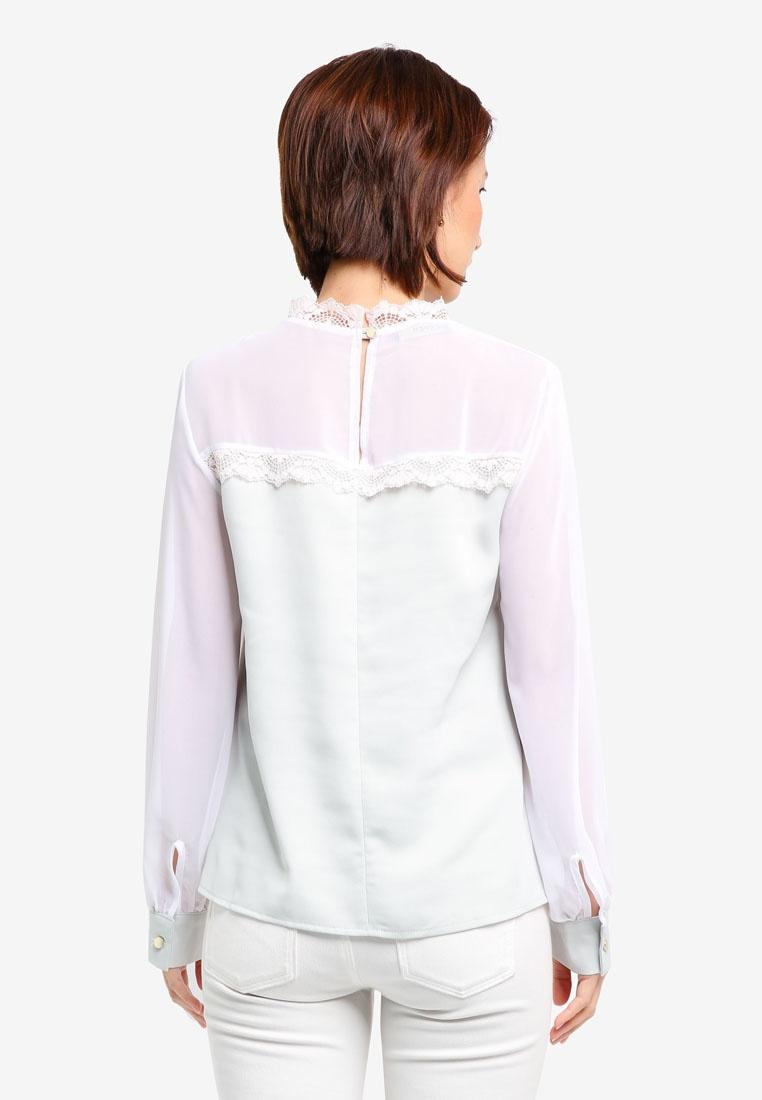 Lace Mint Vesper Top Vesper Marianna Collar x0Z07EqCw