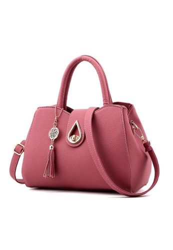 TCWK pink Ladies Handbag TC258AC03KAQMY_1