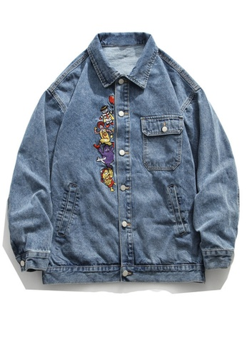 Twenty Eight Shoes Loose-Fitting Denim Jacket HH0893 59ED6AAA9B6798GS_1