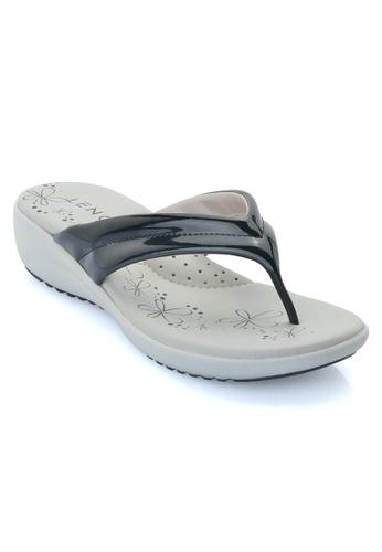 LENO black Blakie Sandal (LS36558) LE122SH25ALUMY_1