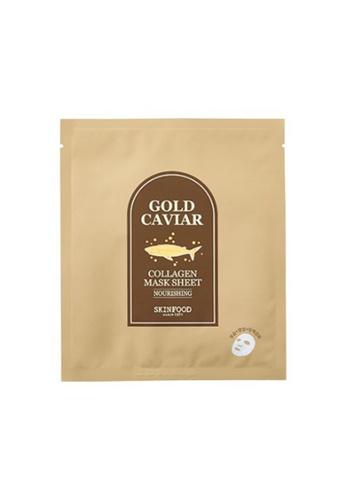 SkinFood SKINFOOD 金箔魚子骨膠原面膜 Gold Caviar Collagen Mask Sheet [5片] E34A5BE03362A1GS_1