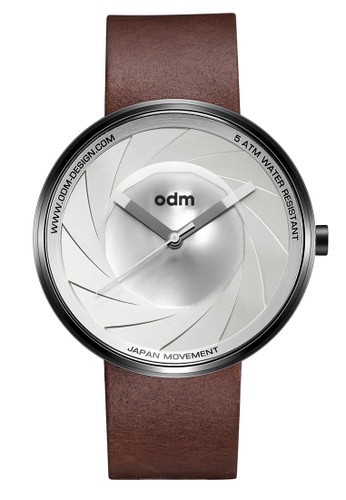 ODM brown ODM Watch Jam Tangan Pria ODM Camera Collection DD161-2 OD396AC0VN06ID_1