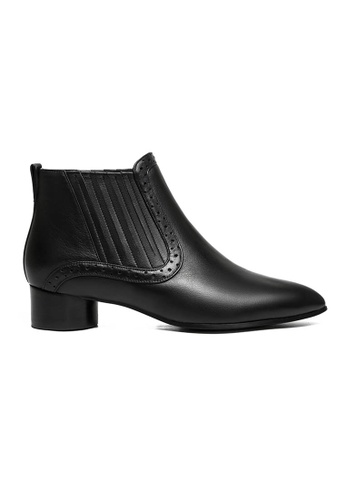 Byford black Ophen Ankle Boots F7996SH4043BB0GS_1