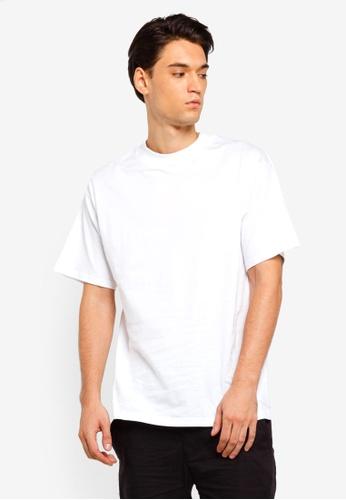 Factorie 白色 Short Sleeve Stand T Shirt 4DE75AAA5BFD04GS_1