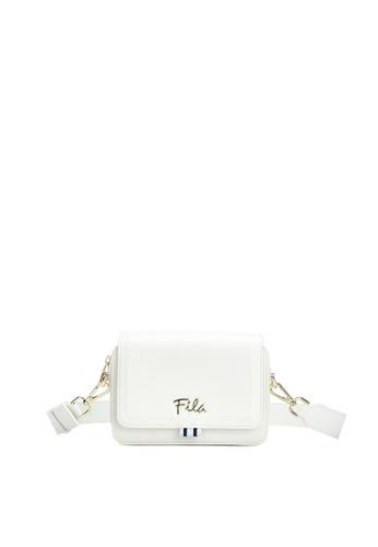 FILA white Women's FILA Logo Crossbody Bag D5ED1AC737F972GS_1