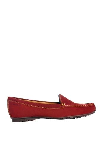 Sebago red Womens Savannah Moc Casual Shoes 2982FSH392E149GS_1