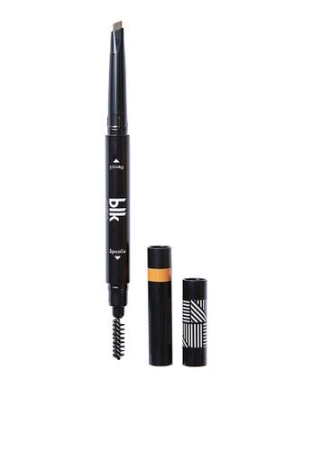 blk cosmetics brown Natural Brown (Light)-Brow Sculpting Pencil Duo B71E2BE3E760AFGS_1