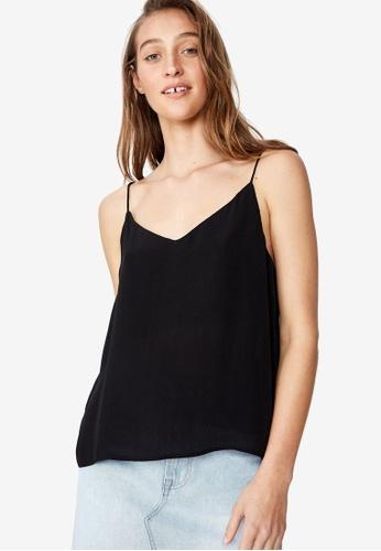 Cotton On 黑色 Astrid Cami 068EDAAE56A0B4GS_1