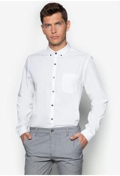 貼身長袖商務襯衫