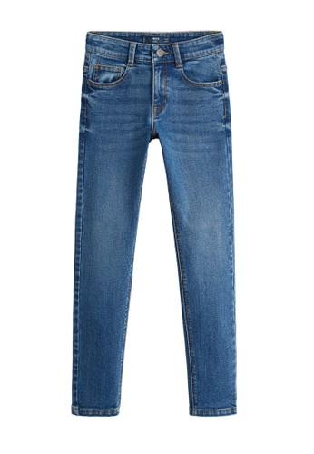 MANGO KIDS blue Slim-Fit Jeans F4317KA1A8B1F3GS_1