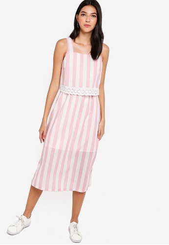 9e35cb36a89e Buy ZALORA Layered Midi Dress Online on ZALORA Singapore