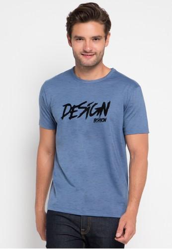 D&F blue T-Shirt Dsgn DF100AA0URA3ID_1
