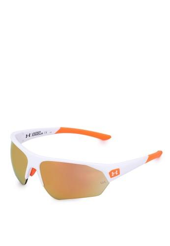 Under Armour white and orange UA 7000/S Sunglasses 7220BGL84A93AEGS_1