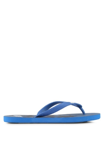 Just Hype blue Camo Fade Flip Flops E56DESHA059C93GS_1
