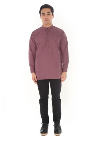 Amar Amran purple Kurta Luqman 8CB7DAA0223575GS_1