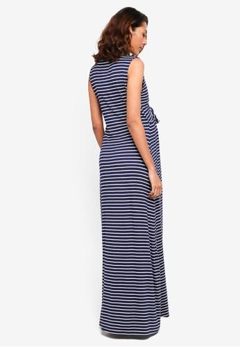 8eff3a8820 Buy JoJo Maman Bébé Maternity Breton Stripe Maxi Dress Online on ZALORA  Singapore