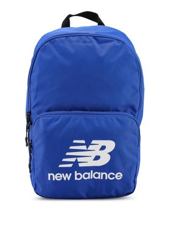 New Balance blue Classic Backpack 7CBB5AC8DB25FEGS_1