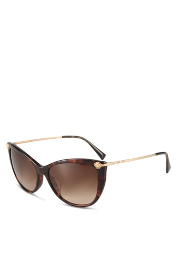 Versace brown Versace VE4345BA Sunglasses 9571EGL8058FB3GS_1