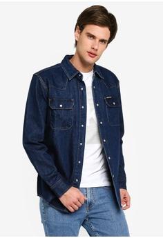 a1559c6ffc0 Calvin Klein blue Archive Western Jacket - Calvin Klein Jeans  E3C60AAC44A25EGS_1
