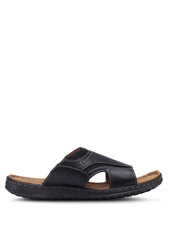 Bata black Slide-On Flip Flops 44B42SHA70EC26GS_1