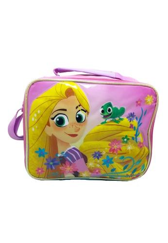 DISNEY Princess green Disney Tangled Rapunzel Lunch Bag 285E4KCD625B69GS_1
