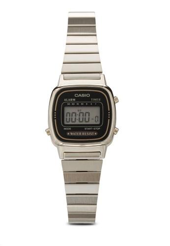 Casio gold Casio Women's LA670WGA-1DF Daily Alarm Digital Gold-tone Watch CA843AC24XJZMY_1