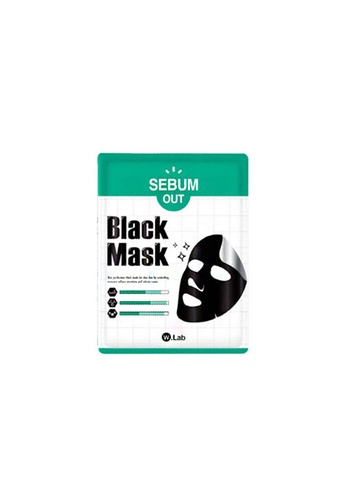 W.Lab Sebum Out Black Mask (10pcs) WL257BE0FVU1SG_1