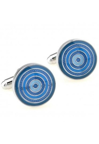 The Little Link Cufflinks blue Radar cufflinks TH089AC0GC4OSG_1