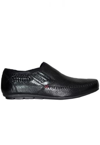 Gino Mariani black Gino Mariani Men's Leather Shoes GALVIO - BLACK B8A78SH8FC8FC5GS_1