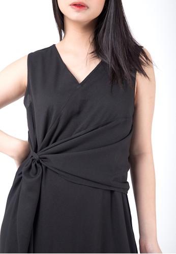 Simplify black Luna Dress Black F804FAA4AB89B2GS_1