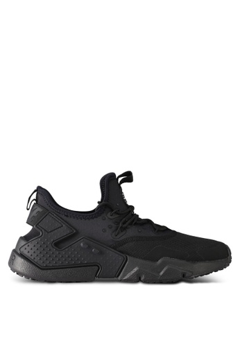 Nike black and white Men's Nike Air Huarache Drift Shoes NI126SH0STTFMY_1