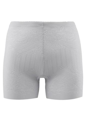 LAVABRA Intimates grey Perfect Shapewear - Body Shaping Power Breathable Mid Thigh Panty LA387US20PTJID_1