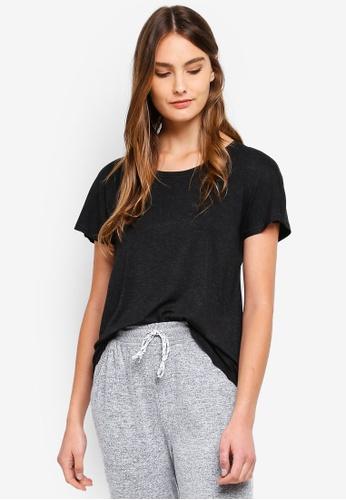 Cotton On Body black Sleep Recovery Cap Sleeve T-Shirt BA452AA36E3F11GS_1