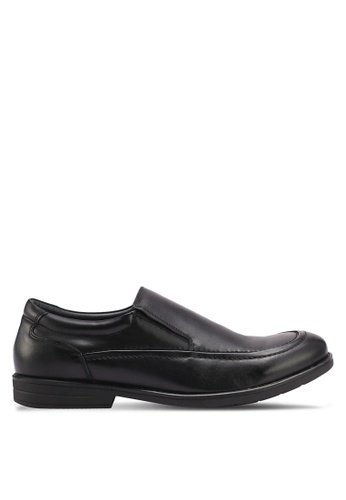 Bata black Comfit Cyril Dress Shoes 7FB3FSH679E484GS_1