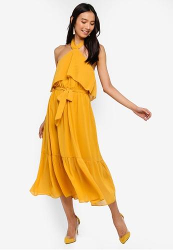 Angeleye yellow Avril Dress 65FE8AAA5A2E7BGS_1
