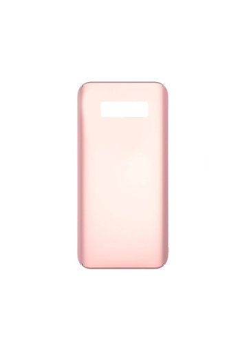 MobileHub pink Samsung S10 Plus X-Level Rubberized Matte Hard Back Case 96B56AC0C80EEEGS_1
