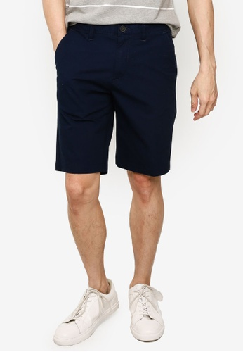Timberland navy Squam Lake Poplin Straight Chino Shorts E1351AA505D958GS_1
