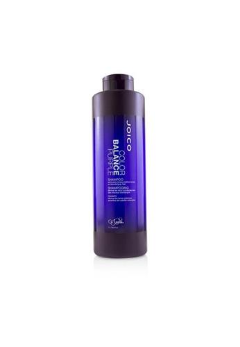 JOICO JOICO - 煥采重建潔髮乳 洗髮精(紫色 減少金銀髮泛黃) Color Balance Purple Conditioner 1000ml/33.8oz 41A7EBE15C74D2GS_1