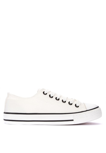 BENCH white Lace Up Sneakers 3F69CSHEE5992CGS_1