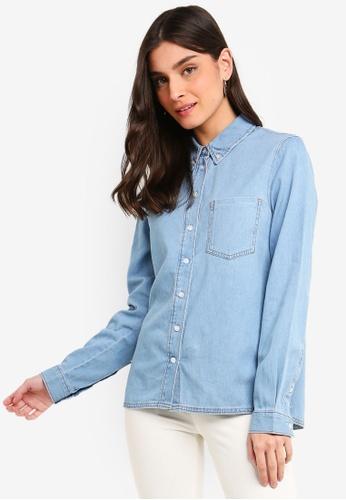 OVS blue Denim Shirt 05BF4AA8C107A6GS_1