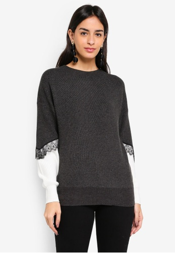 Vero Moda grey Smilla O-neck Sweater 87F41AAFBC0277GS_1