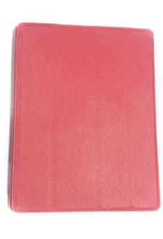 Italian Style Smart Cover for iPad 2/3/4 (Red)
